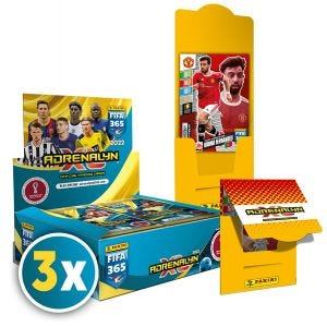 Panini FIFA 365 Adrenalyn XL™ 2022 Trading Cards Collection PLATINUM N. 3 BUNDLE