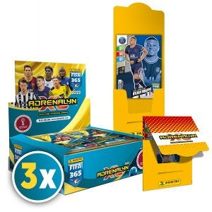 Panini FIFA 365 Adrenalyn XL™ 2022 Trading Cards Collection PLATINUM N. 5 BUNDLE